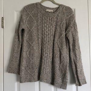 Treasure & Bond Cable Knit Sweater